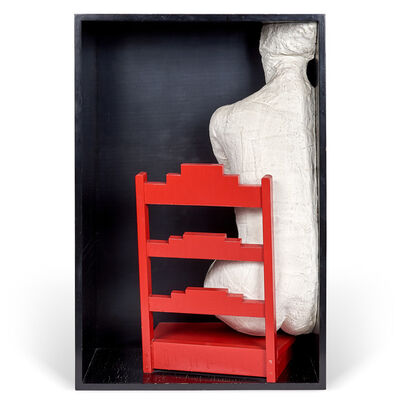 George Segal, 'Girl on a Chair', 1970