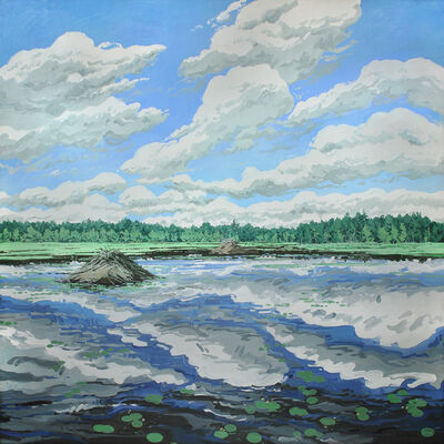 Neil G. Welliver, 'Big Flowage', 1979