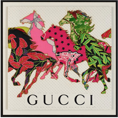 Stephen Wilson, 'Gucci Stampede', 2021
