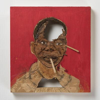 Aimé Mpane, 'Red Mask I', 2008