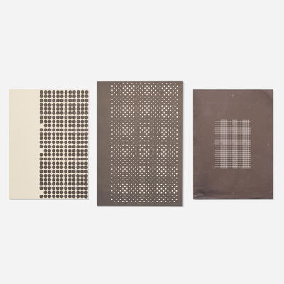 Josef Albers, 'Holiday Cards (three works)'