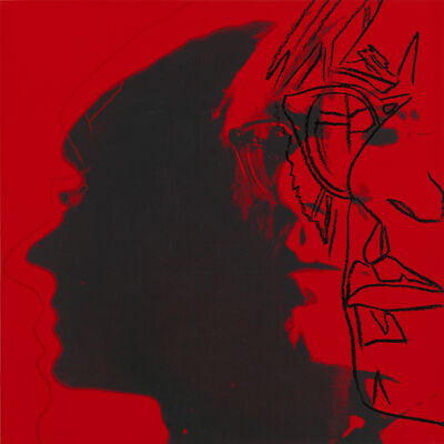 Andy Warhol, 'The Shadow (with glasses)', 1981
