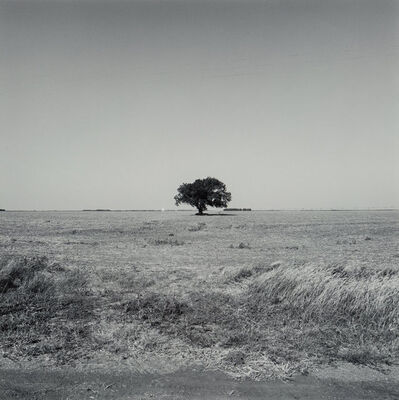 Frank Gohlke, 'Landscape, near Kinsley, Kansas', 1973-printed in 1978