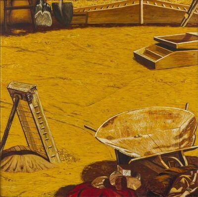 Antonio Saliola, 'L'odore dell'oro from the cycle 'Ma non è il West!'', 1975