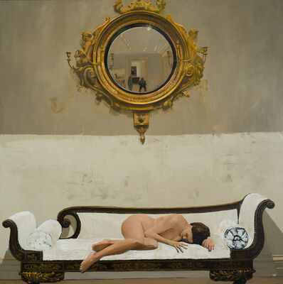 Patrick Pietropoli, 'Canapé blanc', 2020