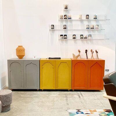 Casa Gutiérrez Nájera at ZⓈONAMACO 2019, installation view