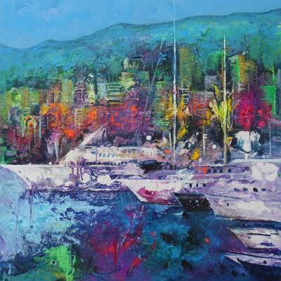 Ulpiano Carrasco, 'Puerto de Monaco con rape', 2020