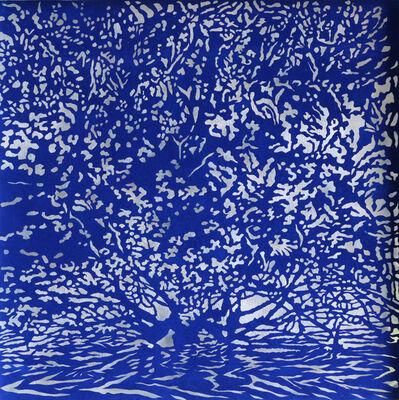 Andrew Tomkins, 'Blue Cut V', 2018