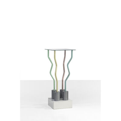 Ettore Sottsass, 'Strutture Tremano, Pedestal', 1979