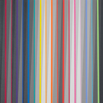 Gabriele Evertz, '17 Hues + 8 Grays, Door to the East Series', 2013