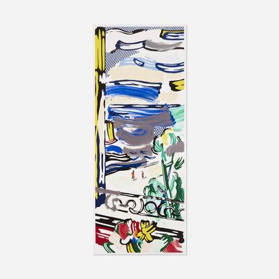 Roy Lichtenstein, 'View from the Window (from the Landscape series)', 1985
