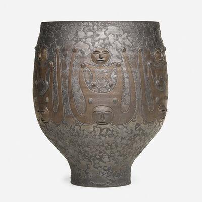 Edwin Scheier, 'Large chalice form', 1983