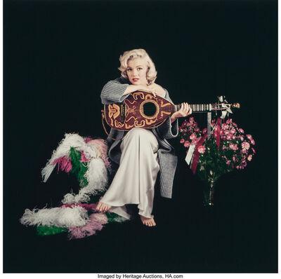 Milton H. Greene, '01 (from Marilyn with Lute, taken during the Balalaika Sitting)', 1953