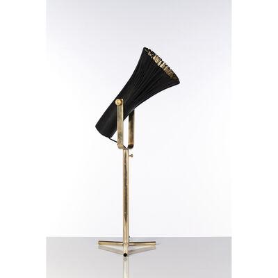 Johannes Hemann, 'Pressed wood, table lamp', 2019