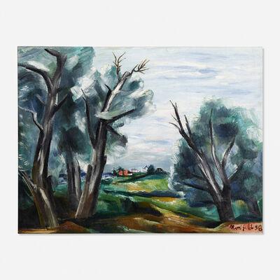 B. J. O. Nordfeldt, 'Willows', 1938