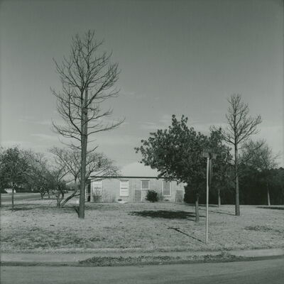 Frank Gohlke, 'Wenonah and Kessler - looking north - Wichita Falls, Texas', 1972/1974