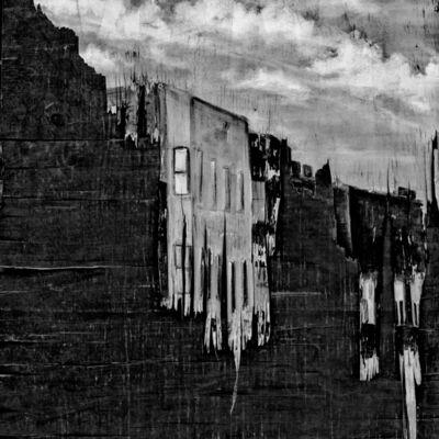 Matt Black, 'Downtown mural. Alabama, Columbia. USA. ', 2017