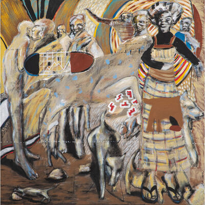 Soly Cissé, 'Animal sacrifié', 2003