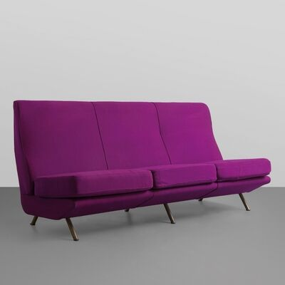 Marco Zanuso, 'A IX Triennale sofa ('flying cushions' model)', 1951