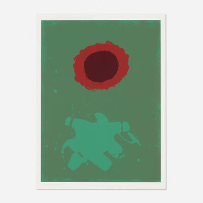 Adolph Gottlieb, 'Untitled (Burst)', 1972