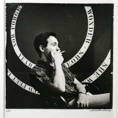 William John Kennedy, 'Young Robert Indiana Smoking ', 1963