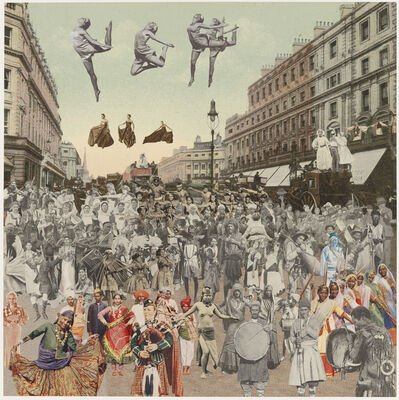 Peter Blake, 'London- Regent Street- Dancing', 2012