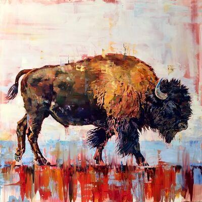 Douglas Schneider, 'Blue Eyed Buffalo', 2019