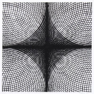 Jonathan K Higgins, 'Arcs & Semicircles V', 2004