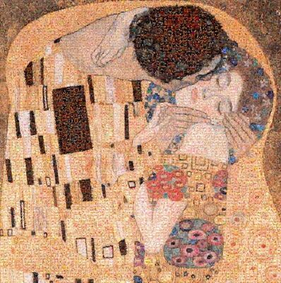 Joel Moens de Hase, 'The Kiss (Klimt)', 2014