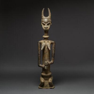 Unknown Yoruba, 'Large Yoruba Bronze Statue of a Woman', 1800 AD to 1920 AD