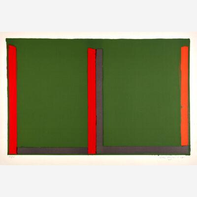 John Hoyland, 'Large Green Swiss; Untitled; Untitled II; Untitled III (4)'