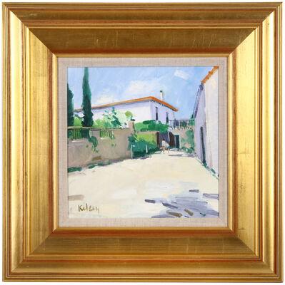 Robert Kelsey, 'Spanish courtyard, Malaga'
