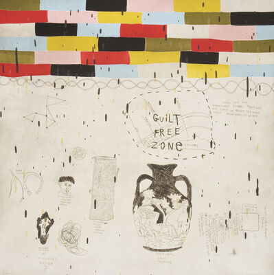Squeak Carnwath, 'Perfect Studio', 2006