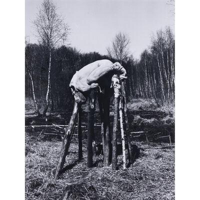 Dieter Appelt, 'Fom Moorbegehung', 1977