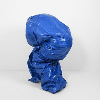 Chris Shepherd, 'Blue Tarp Self-Portrait - Version 1', 2018