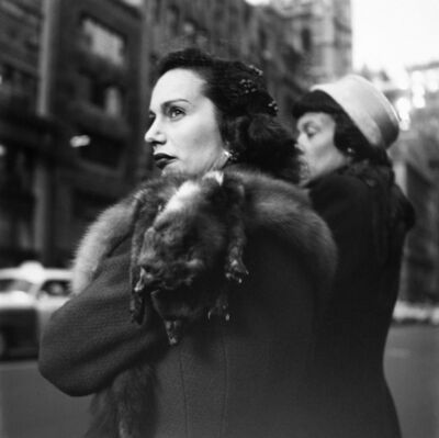 Vivian Maier, 'New York, NY', December 2-1954
