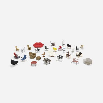 Vitra, 'Collection of twenty-eight miniatures'
