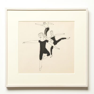 Andy Warhol, 'Three Dancers', 1955