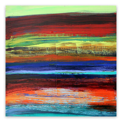 Deanna Sirlin, 'Reflect (Abstract painting)', 2020