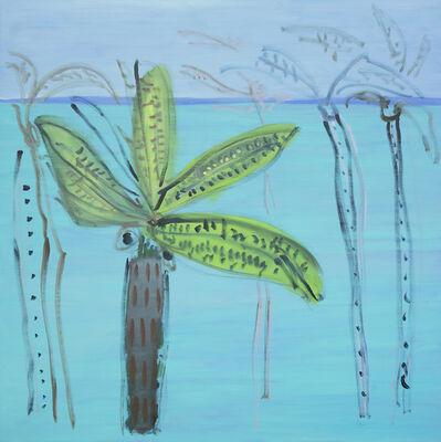 Elizabeth Enders, 'Untitled/River/ Banana Leaves'
