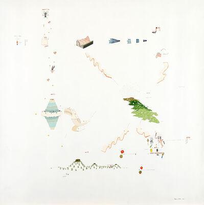 Gianfranco Baruchello, 'Maremoto nell'arcipelago', 1973