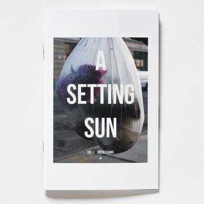 Gregg Evans, 'A Setting Sun, Volume I', 2015
