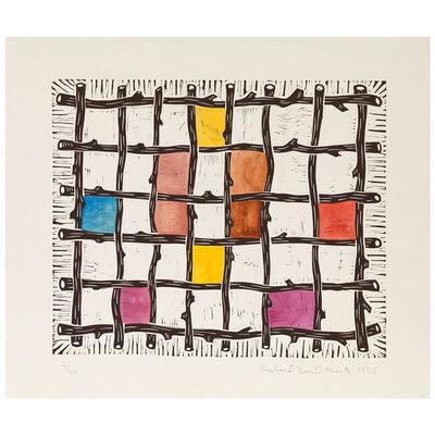 Richard Mock, 'Grid', 1988