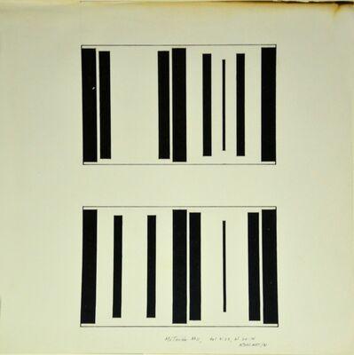 Waldo Balart, 'Mutación #11, del 9:23, al 24:14', 1981