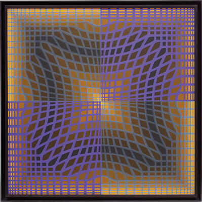 Victor Vasarely, 'KASS-2', 1973