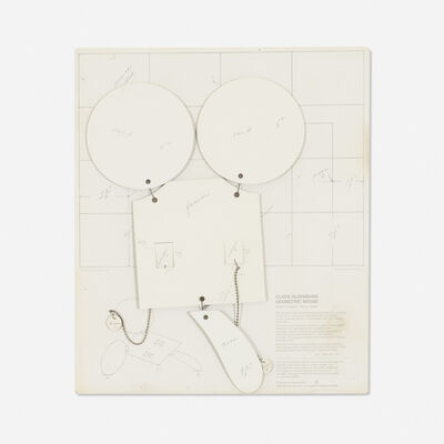 """Claes Oldenburg, 'Geometric Mouse, Scale-D """"Home-made""""', 1971"""