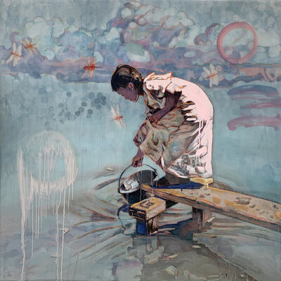 Hung Liu 刘虹, 'Water Catcher', 2020