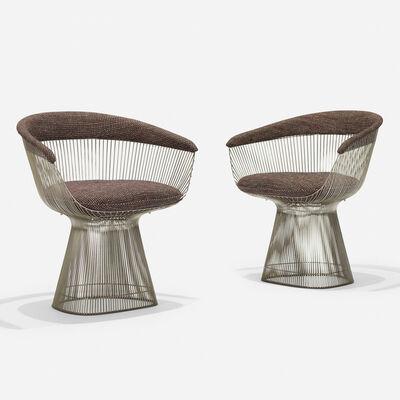 Warren Platner, 'Dining chairs, pair', 1966