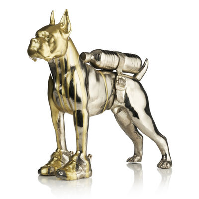William Sweetlove, 'Cloned Bulldog with pet bottle ', 2011