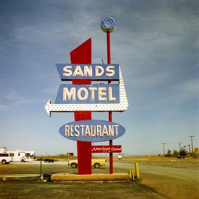 Steve Fitch, 'Highway 90, Van Horn, Texas; March 24', 2006